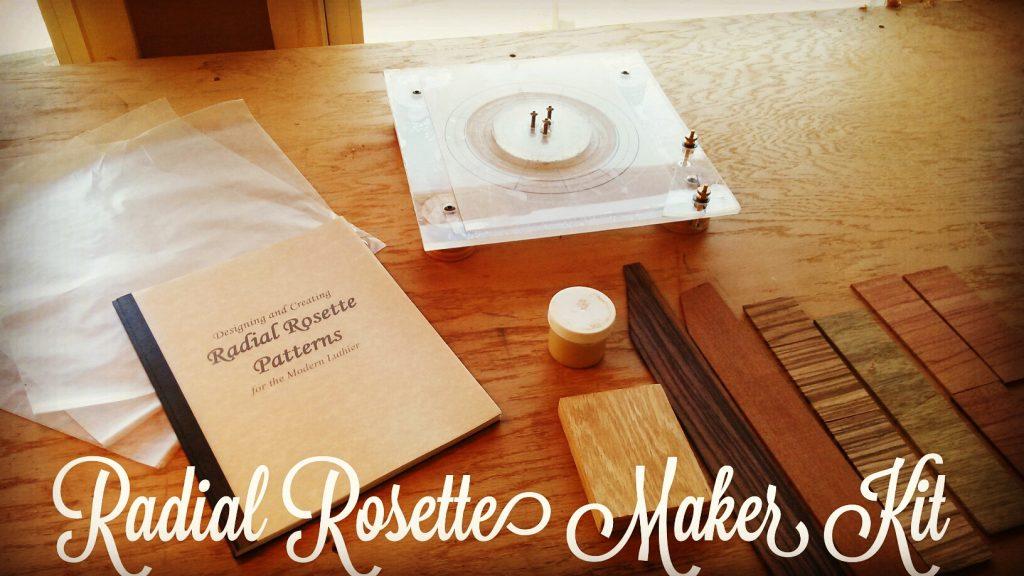 Radial Rosette Maker Kit | Guitar Building School