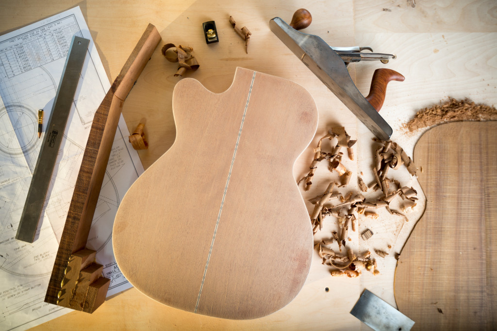 Online Guitar Building School | Eric Schaefer Guitars