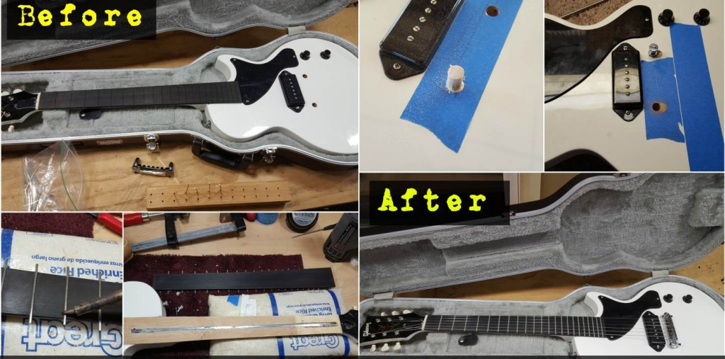 Gibson Fake Gets a New Fretboard